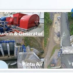 Progress Kerja PT Inpola Meka Energi - PLTA Lau Gunung 15 MW